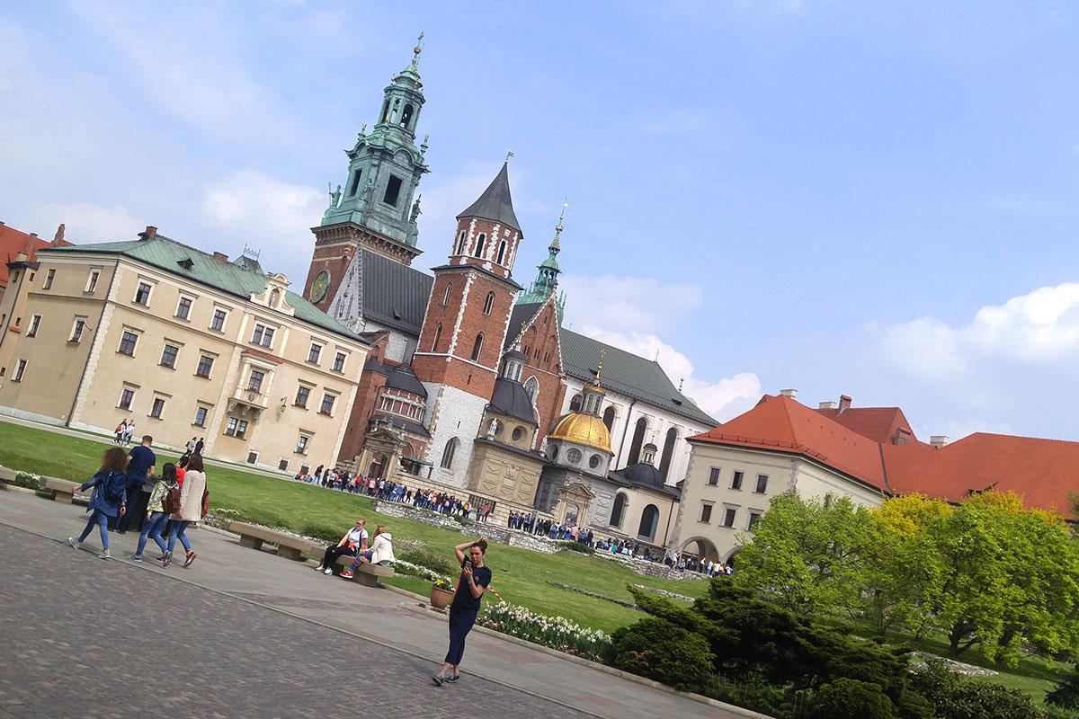 Binnenplaats van de Wawel
